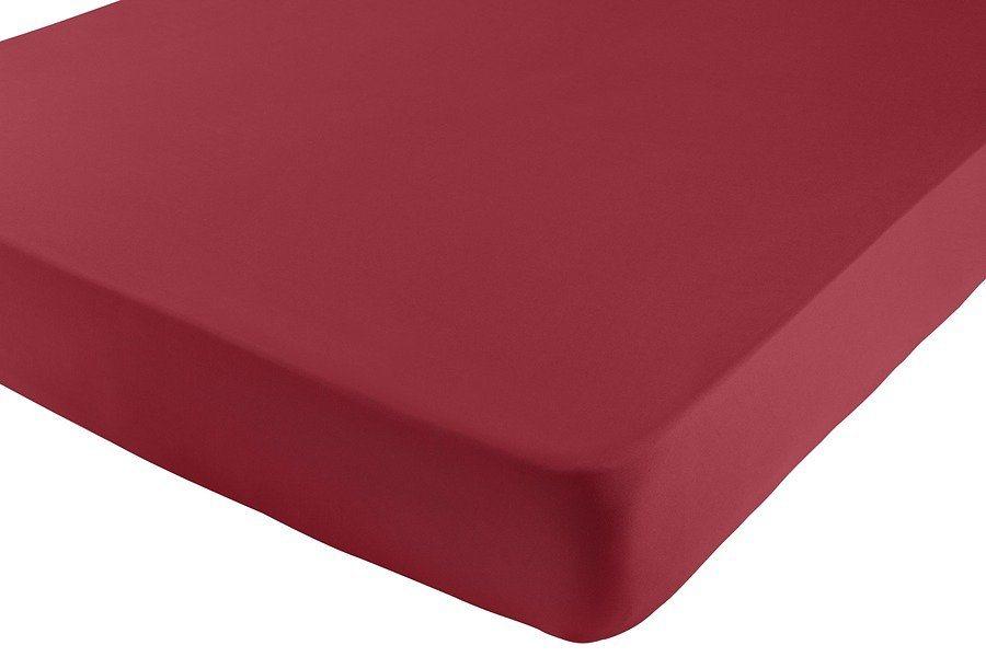 Formesse Spannbetttuch in rot