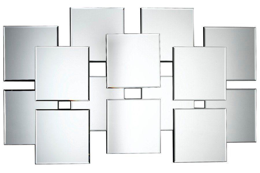 heine home Spiegel aus 14 überlappenden Spiegel-Elementen