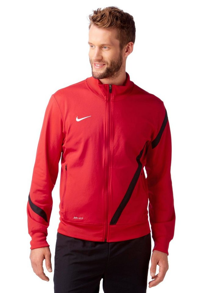 Nike Trainingsjacke in Rot