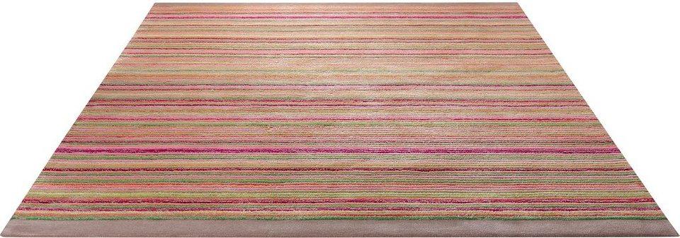 Teppich, Esprit, »Samba Stripes« in taupe