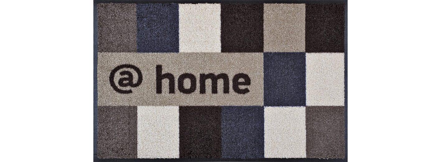 Fußmatte, wash+dry by Kleen-Tex, »@home brownish«, rutschhemmend beschichtet