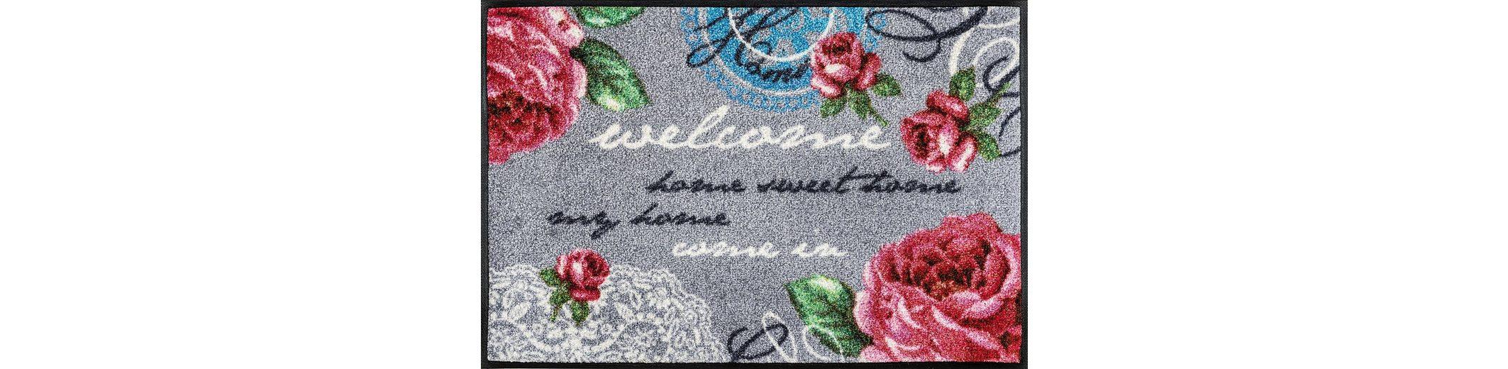 Fußmatte, wash+dry by Kleen-Tex, »Nordic Romance«, rutschhemmend beschichtet