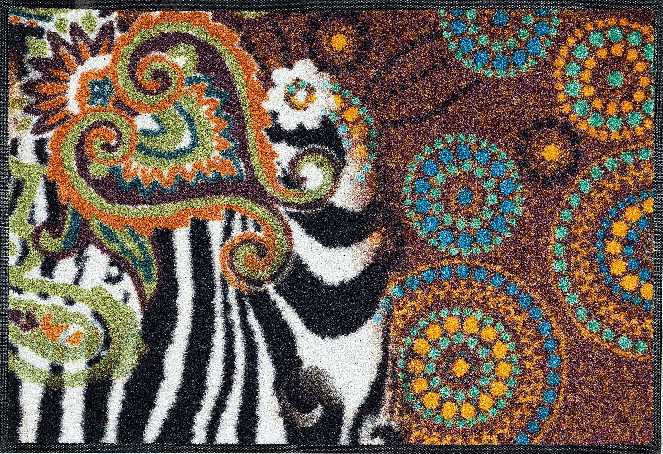 Fußmatte »Joyce«, wash+dry by Kleen-Tex, rechteckig, Höhe 7 mm