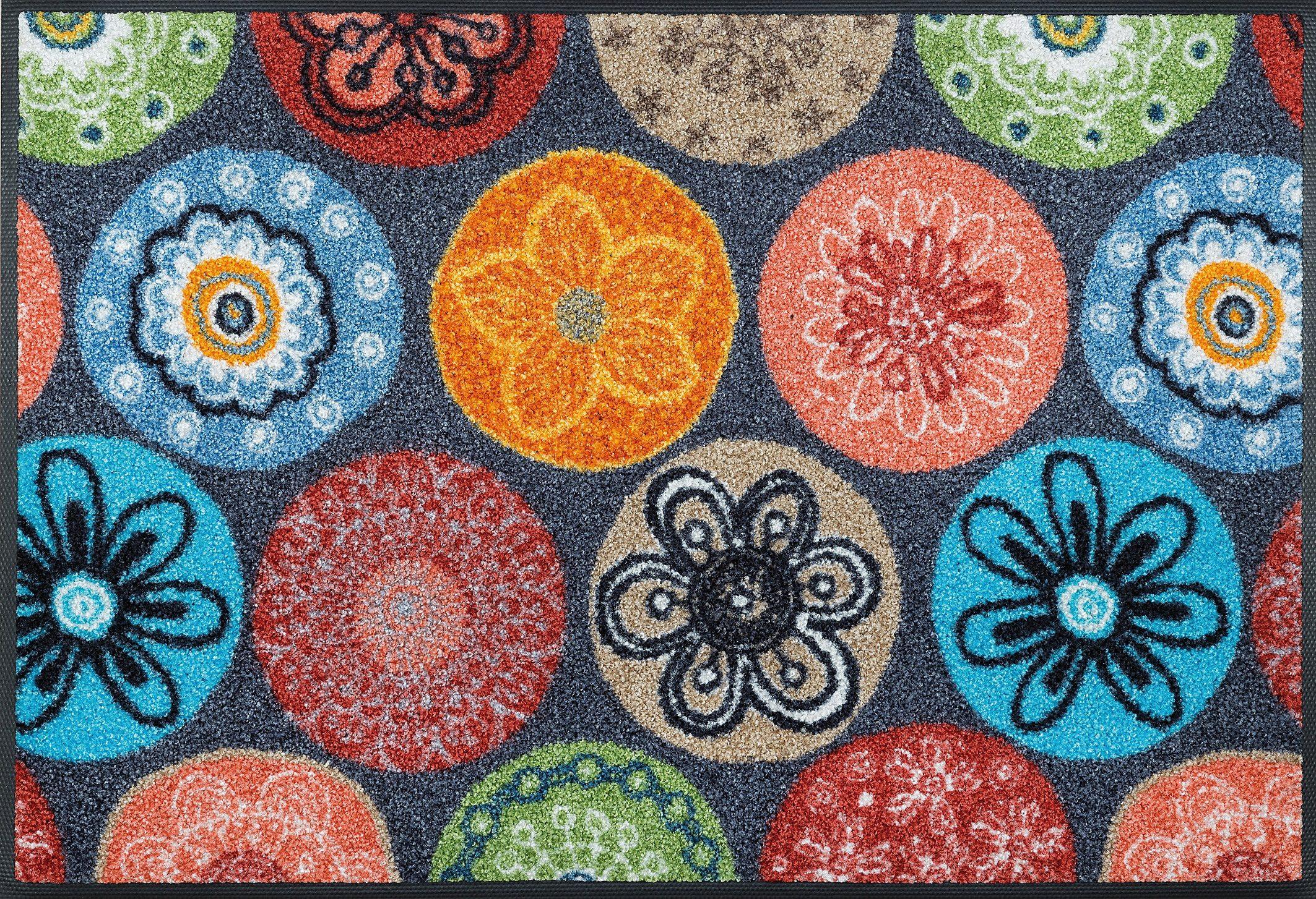 Fußmatte »Coralis«, wash+dry by Kleen-Tex, rechteckig, Höhe 7 mm