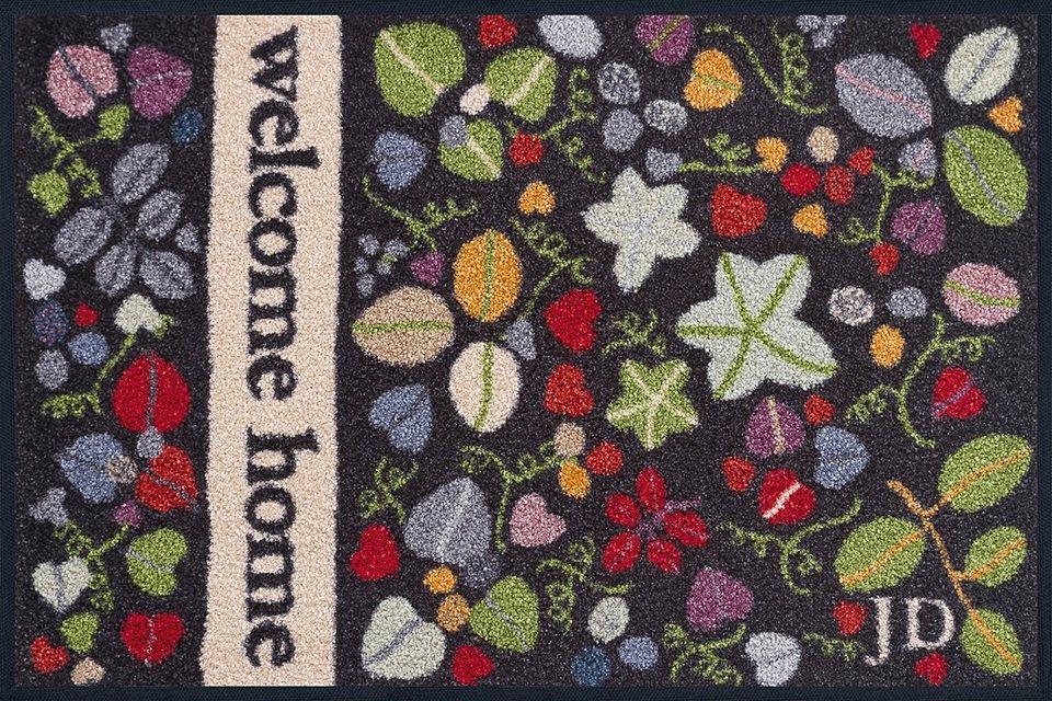 Fußmatte »Firecracker«, wash+dry by Kleen-Tex, rechteckig, Höhe 9 mm in bunt