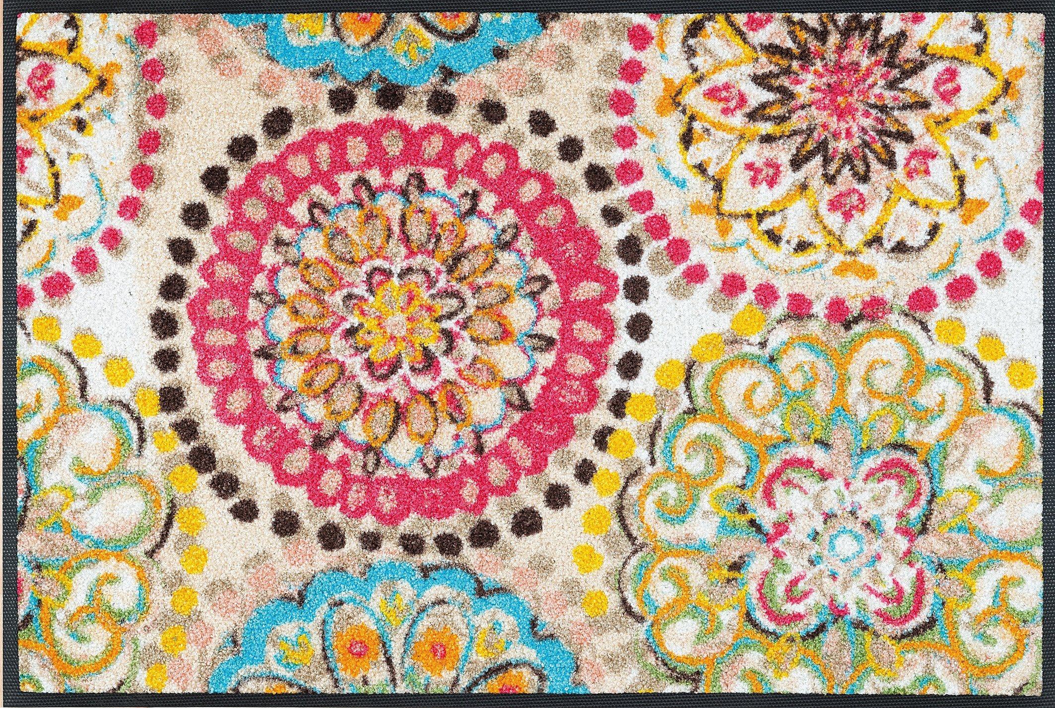 Fußmatte »Vintage Fresko«, wash+dry by Kleen-Tex, rechteckig, Höhe 7 mm | Heimtextilien > Fussmatten | wash+dry by Kleen-Tex