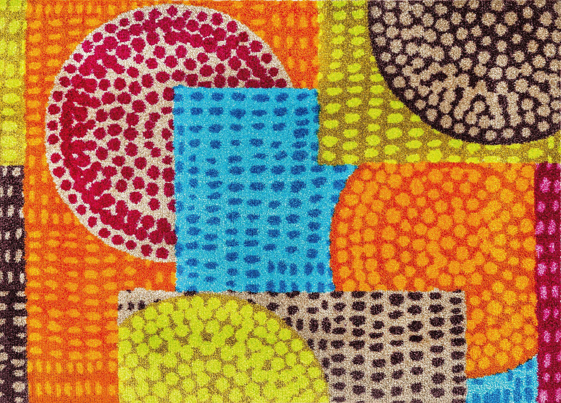 Fußmatte »Ethno Pop«, wash+dry by Kleen-Tex, rechteckig, Höhe 7 mm