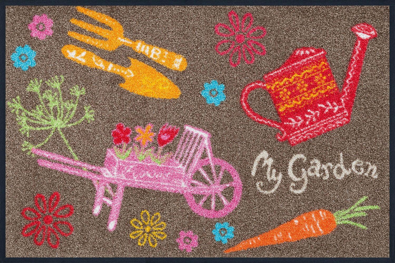 Fußmatte »My Garden«, wash+dry by Kleen-Tex, rechteckig, Höhe 7 mm