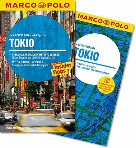 Broschiertes Buch »MARCO POLO Reiseführer Tokio«