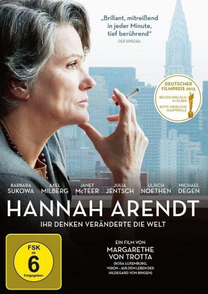 DVD »Hannah Arendt - Ihr Denken veränderte die Welt«