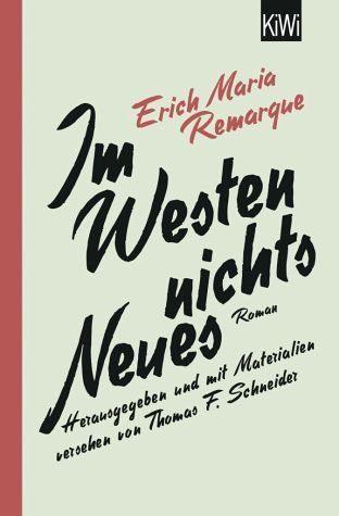 Broschiertes Buch »Im Westen nichts Neues«