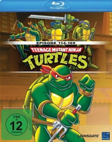Blu-ray »Teenage Mutant Ninja Turtles - Folgen 114-169«