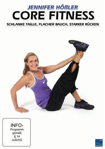 DVD »Jennifer Hößler - Core Fitness: Schlanke...«