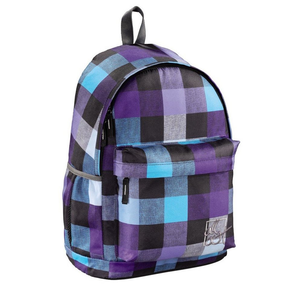 All Out Rucksack Luton, Caribbean Check in Coloured