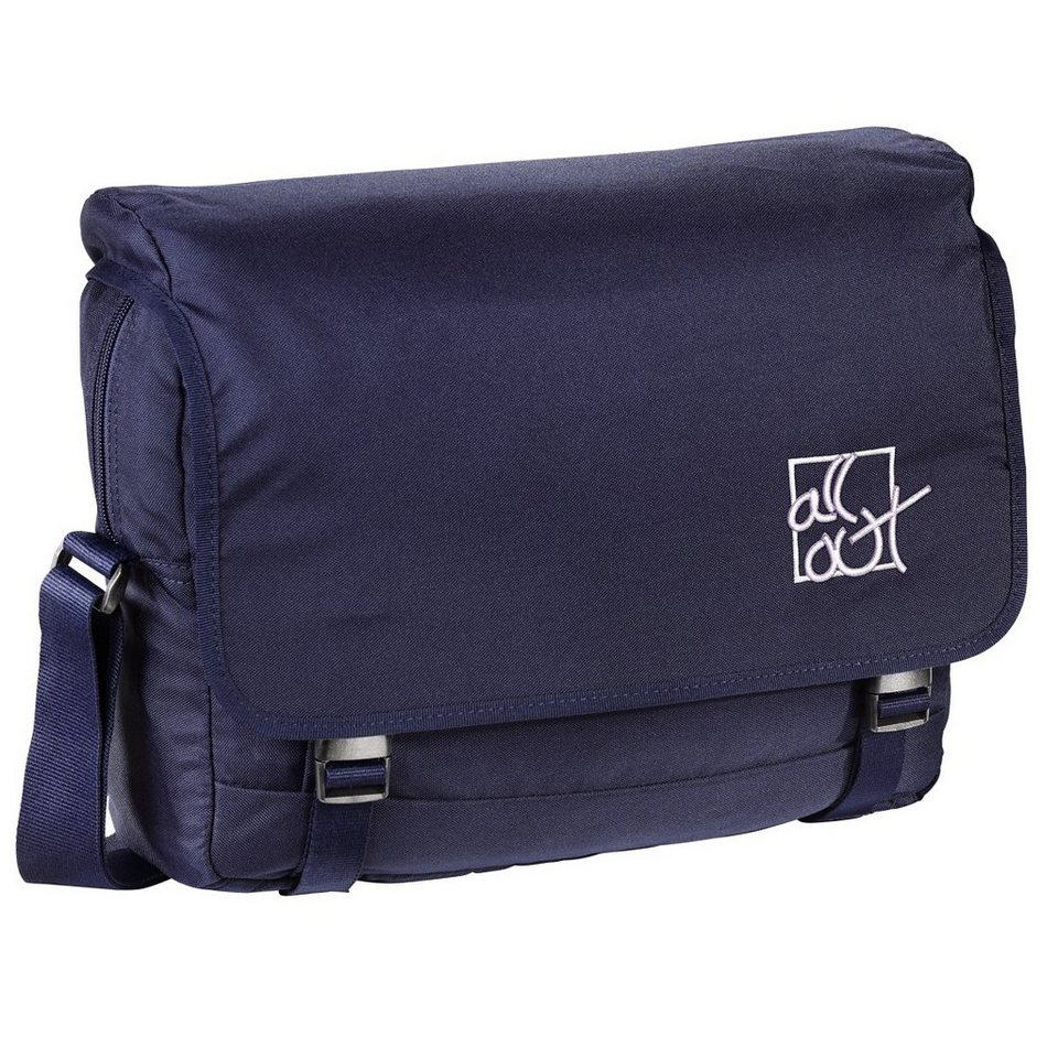 All Out Schultertasche Barnsley, Deep Navy in Blau
