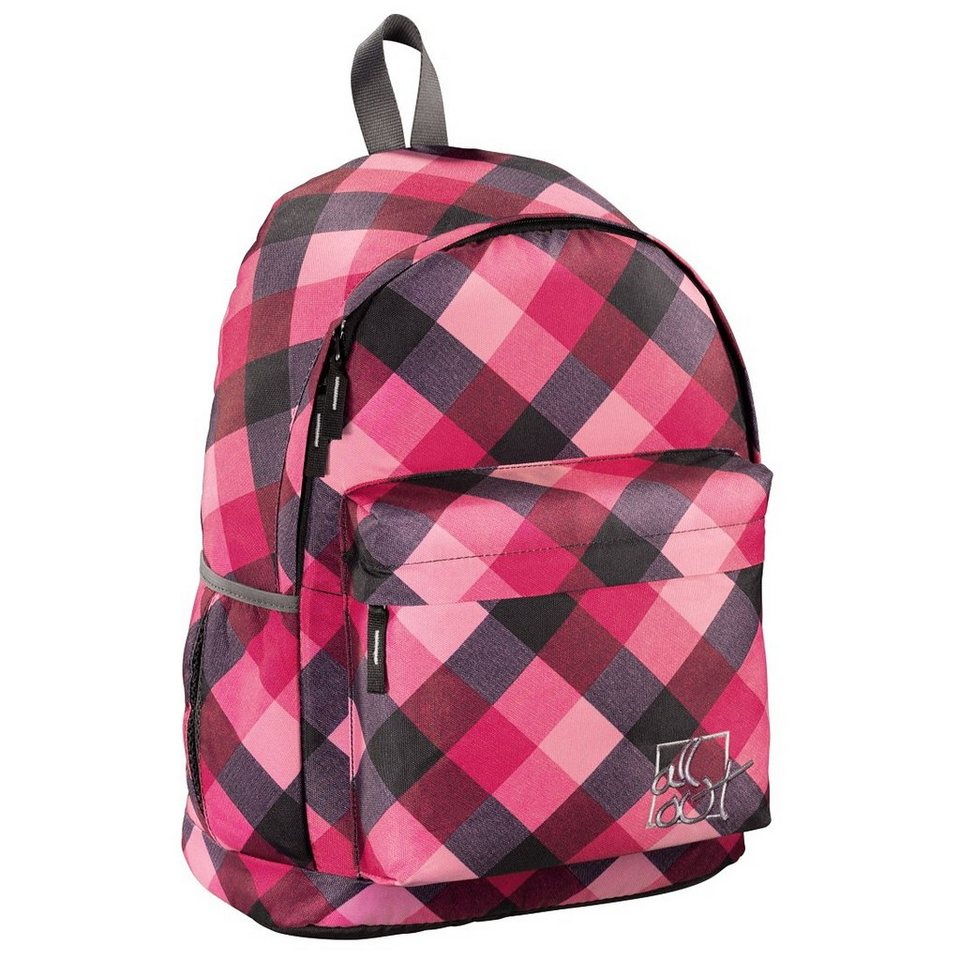 All Out Rucksack Luton, Diamond Check in Coloured