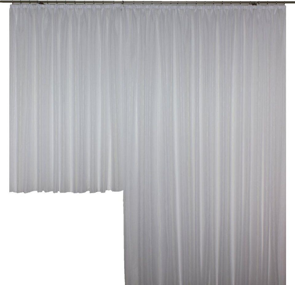 Vorhang, Wirth, »Hanna mit Faltenband« (1 Stück) in weiß