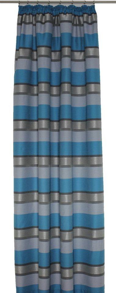 Vorhang, Wirth, »Menorca« (1 Stück) in türkis