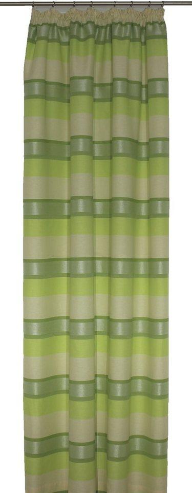 Vorhang, Wirth, »Menorca« (1 Stück) in grün
