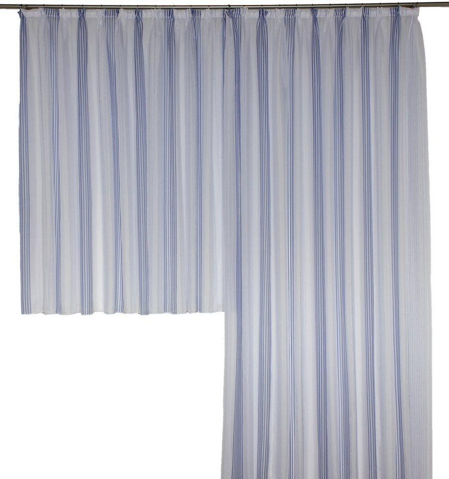Vorhang, Wirth, »TARA«, nach Maß (1 Stück) in blau