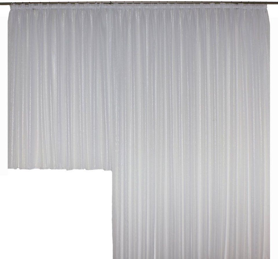 Vorhang, Wirth, »Elly« (1 Stück), nach Maß in weiß