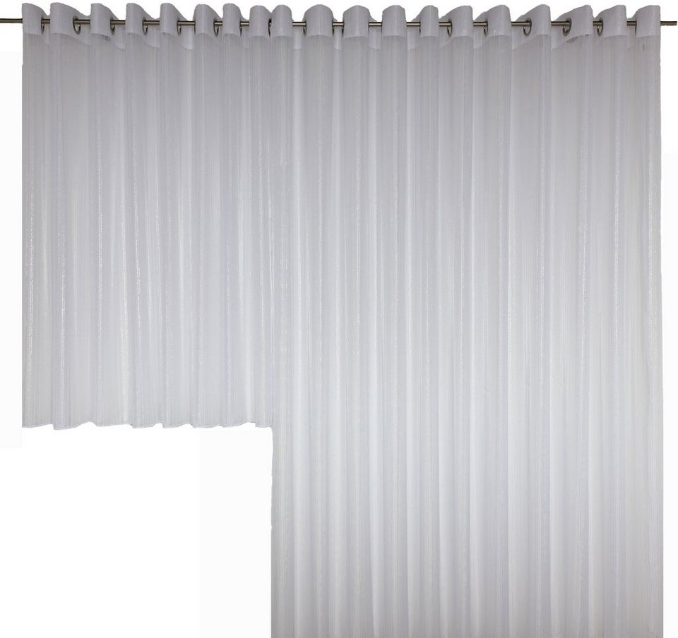 Vorhang, Wirth, »Elly« (1 Stück) in silber