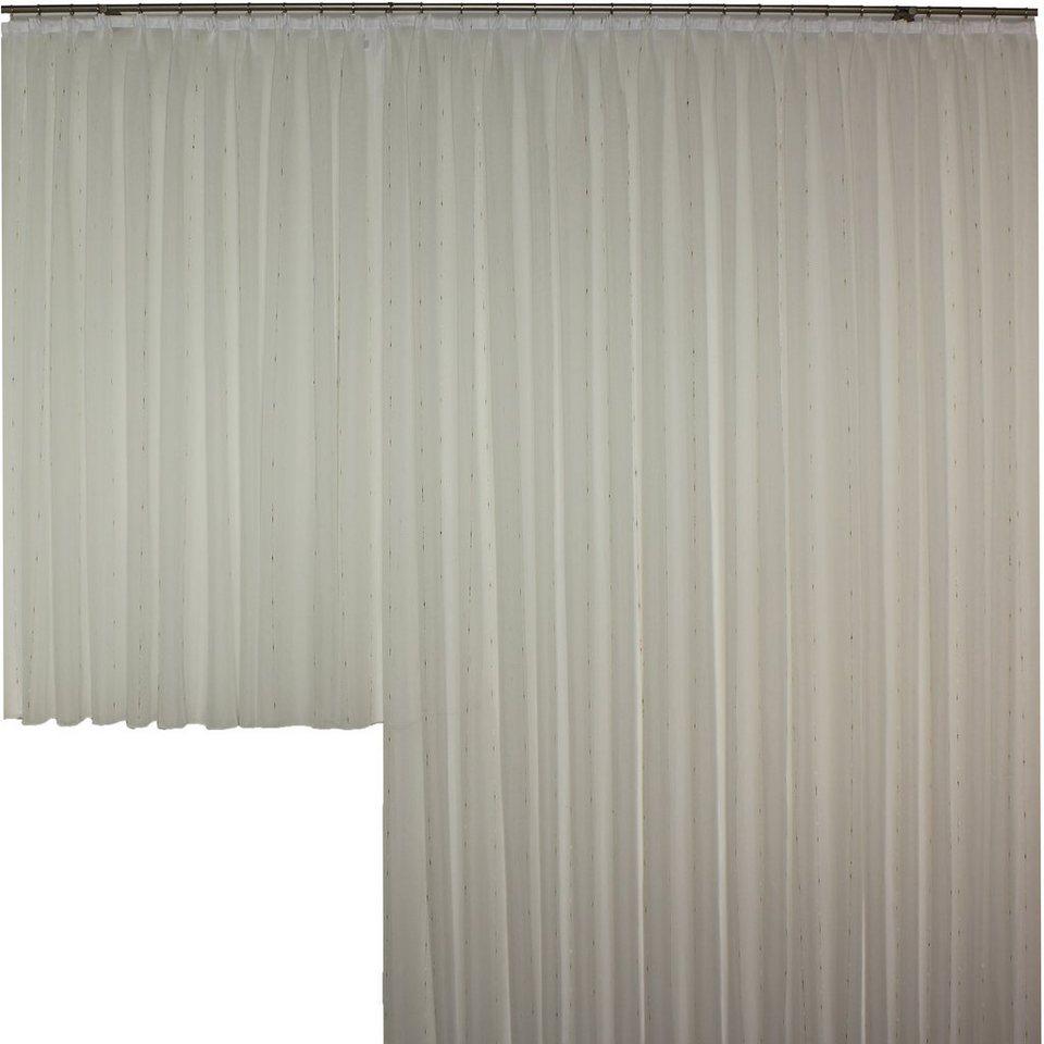 Vorhang, Wirth, »Anja« (1 Stück), nach Maß in weiß