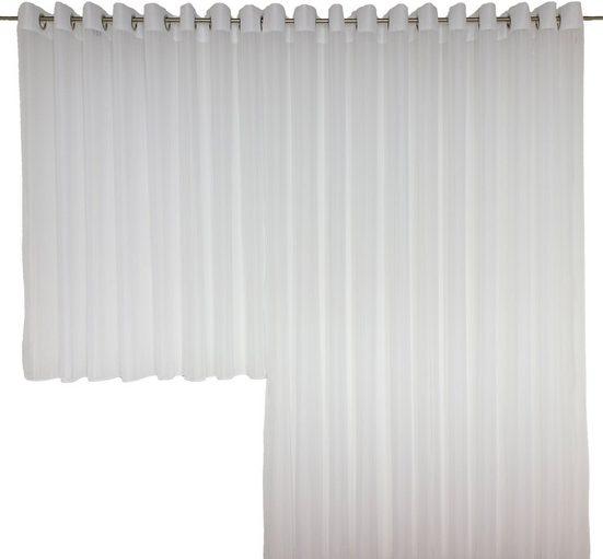 Vorhang »SALLY«, Wirth, Ösen (1 Stück), Store