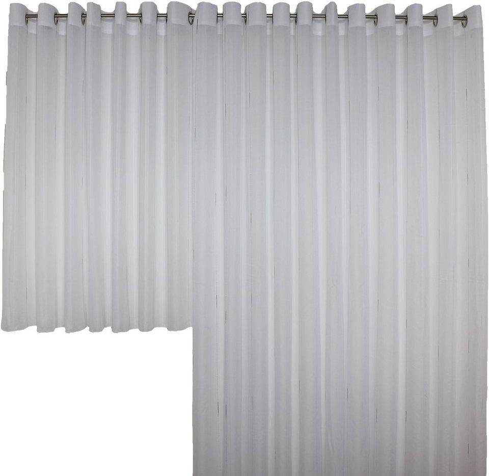 Vorhang, Wirth, »Theresa«, nach Maß (1 Stück) in weiß