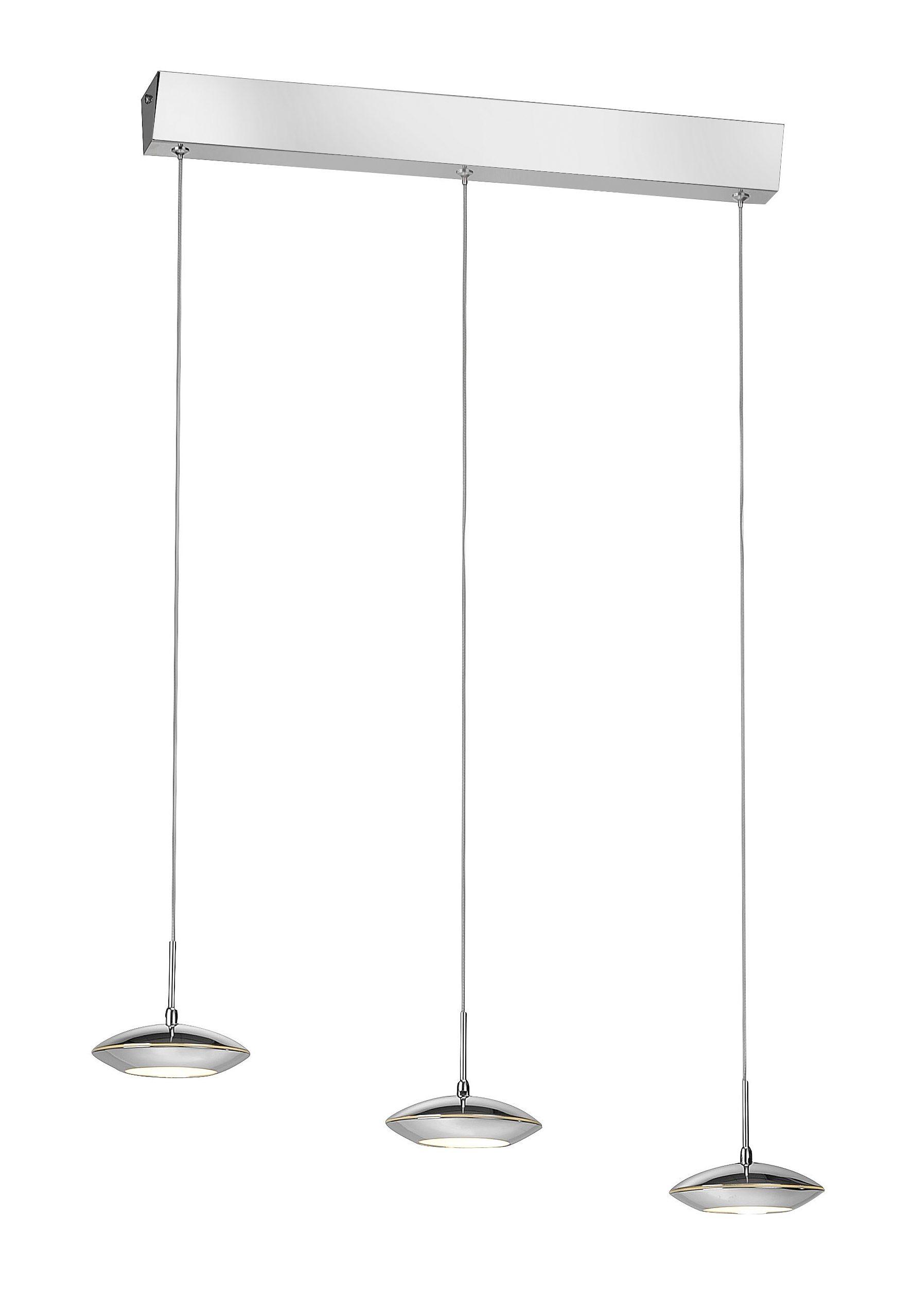 Paul Neuhaus LED Pendelleuchte, 3-flammig