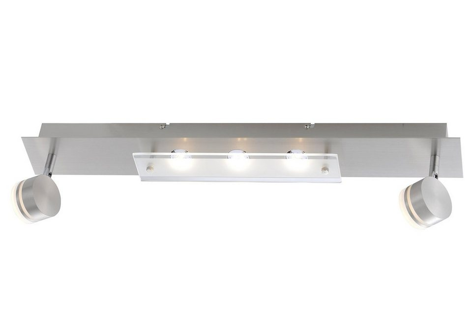 LED-Deckenlampe, Paul Neuhaus in silberfarben