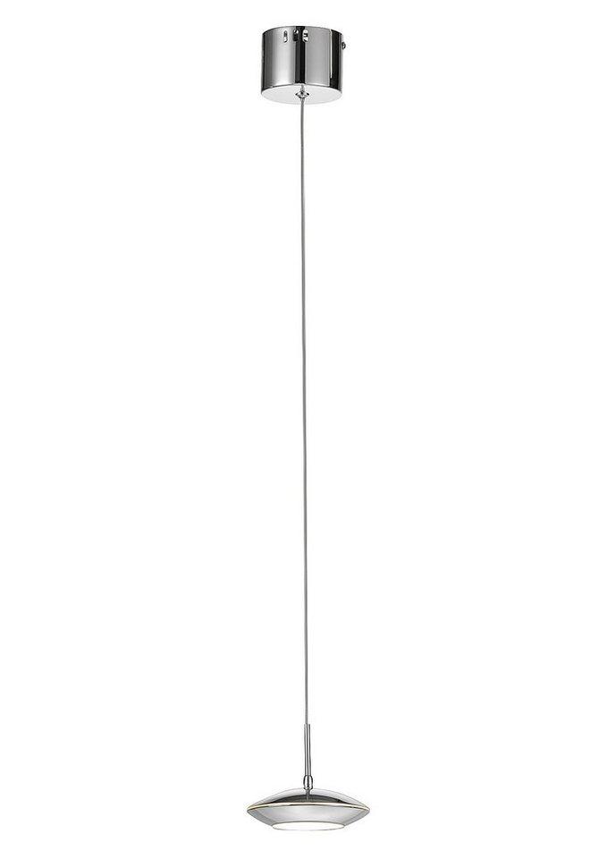 LED-Pendelleuchte, Paul Neuhaus in silberfarben