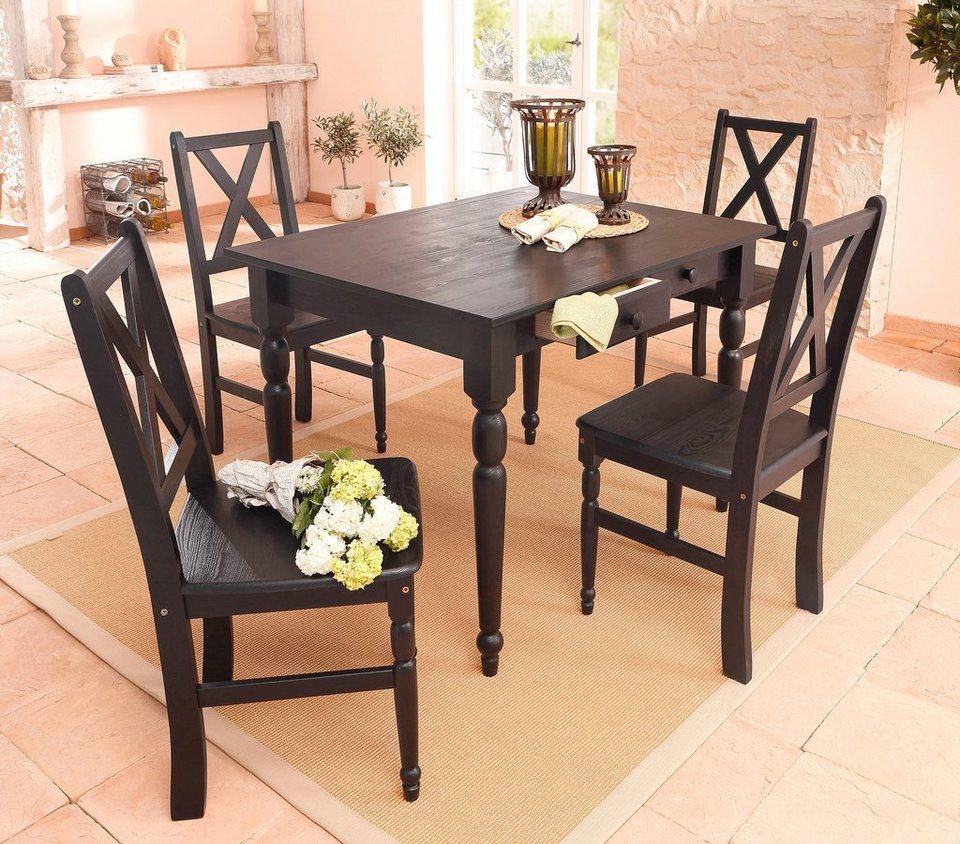 st hle home affaire 2 stck online kaufen otto. Black Bedroom Furniture Sets. Home Design Ideas
