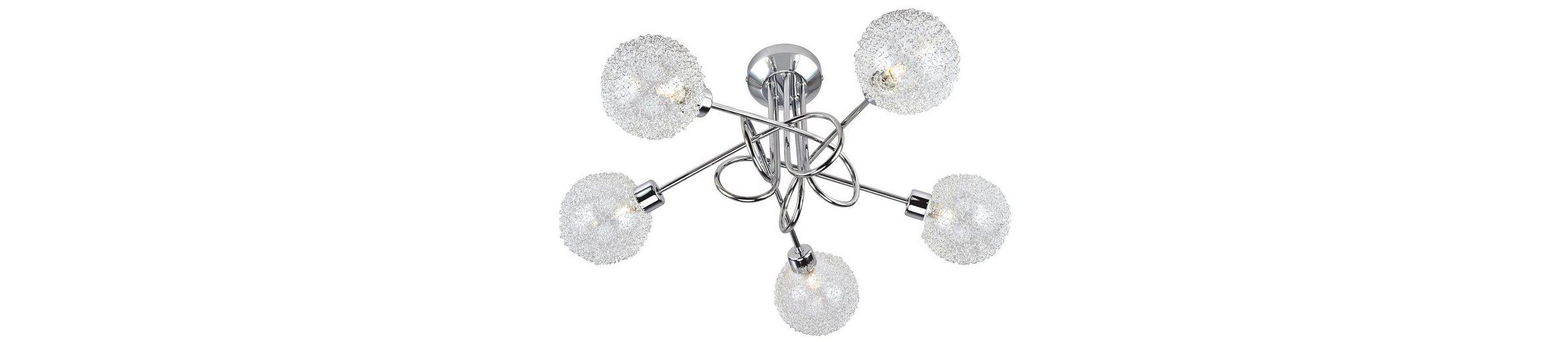 Halogen-Deckenlampe, Leuchten Direkt (5flg.)