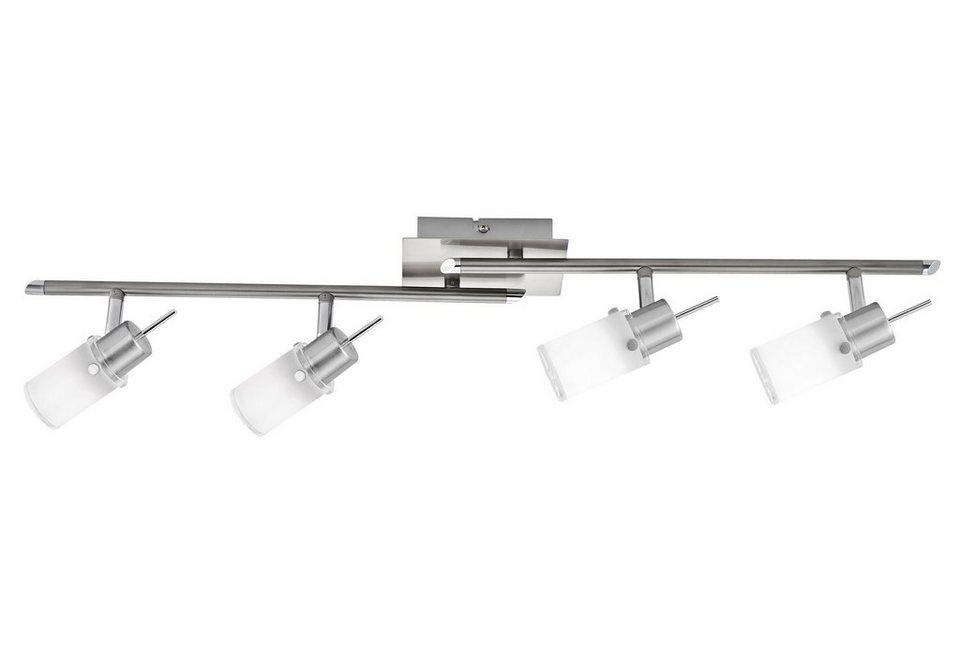 leuchten direkt led deckenstrahler 4 flammig aus glas und metall online kaufen otto. Black Bedroom Furniture Sets. Home Design Ideas