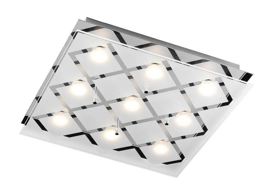 LED-Deckenlampe, Leuchten Direkt in silber