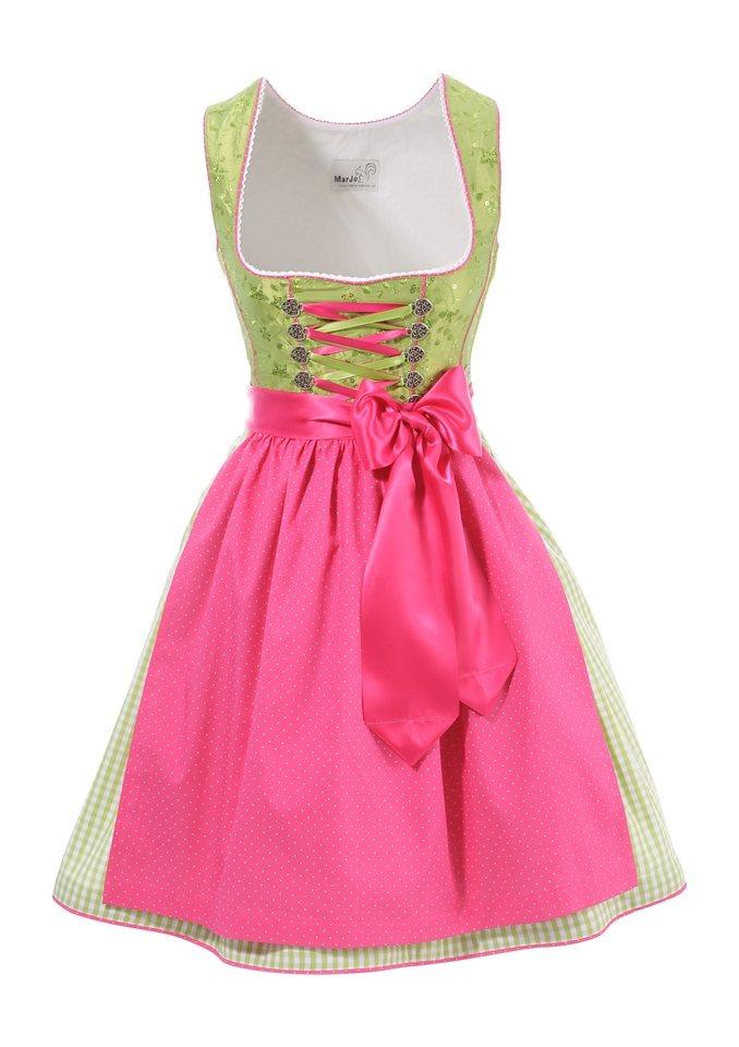 Dirndl, Marjo in grün-pink