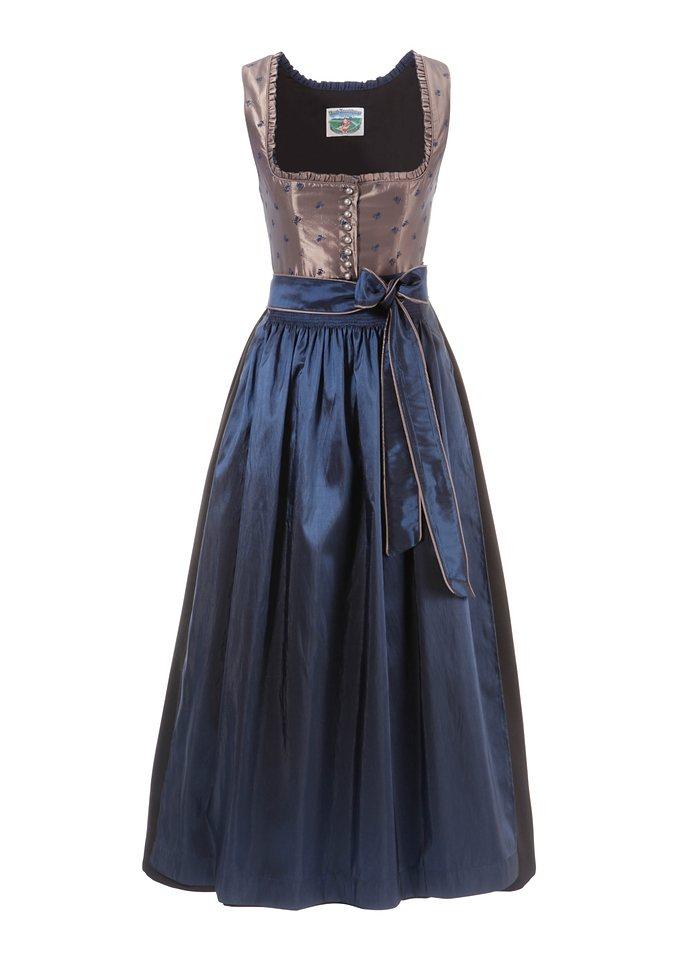 Damen Dirndl Turi Landhaus blau | 01626364310761