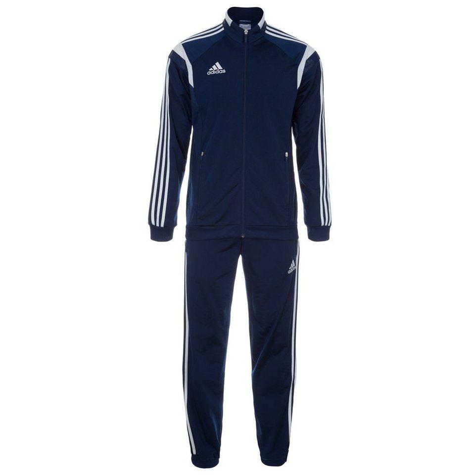 adidas Performance Set: Condivo 14 Polyesteranzug Herren (Packung, 2 tlg.) in blau / weiß