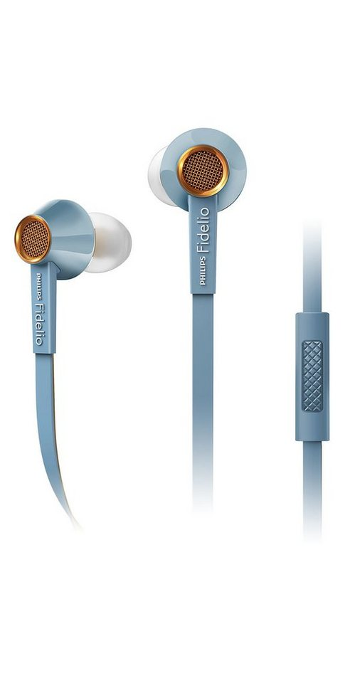 Philips Fidelio In Ear Headset »S2/00 hellblau«