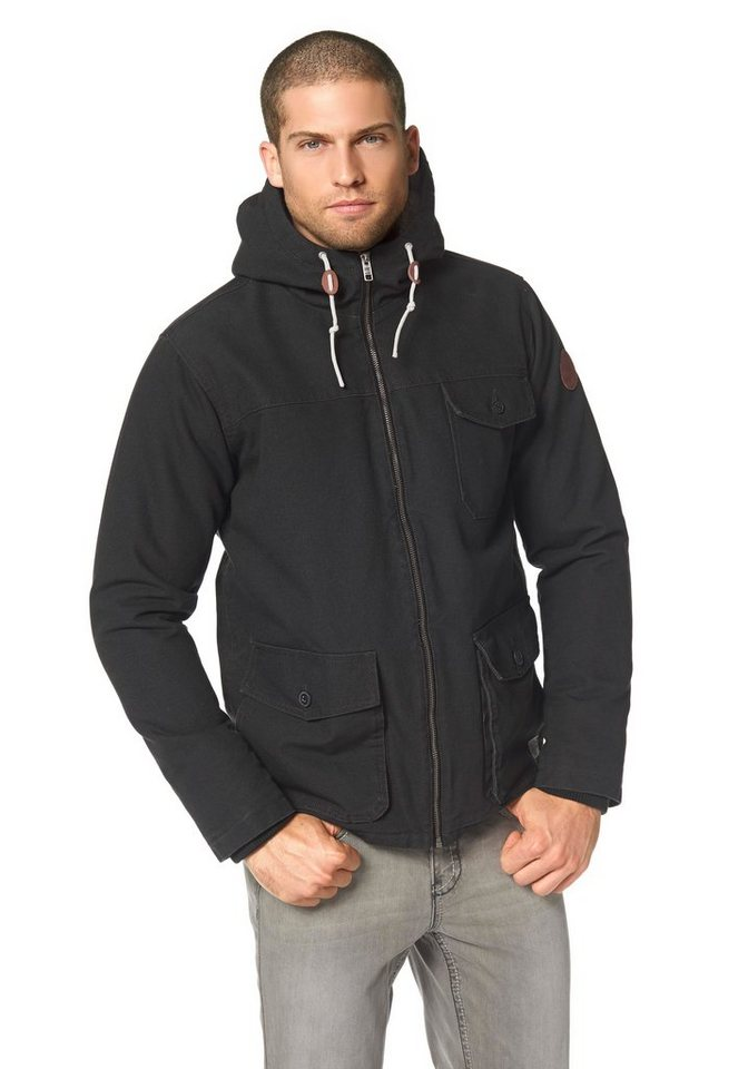Quiksilver Brooks Parka in Anthrazit