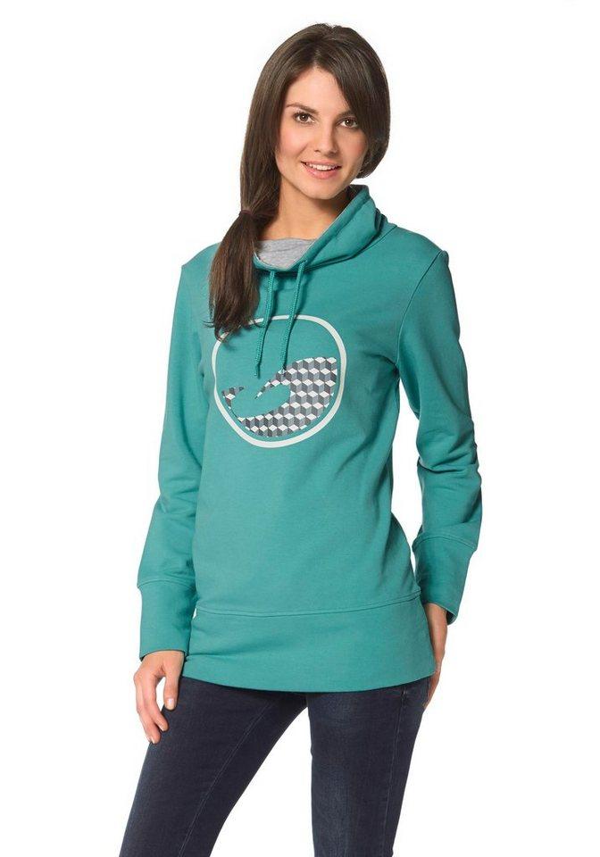 Ocean Sportswear Sweatshirt in Petrol Industries