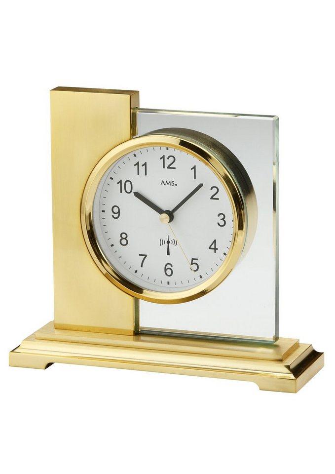 Funktischuhr, AMS in silber-/goldfarben