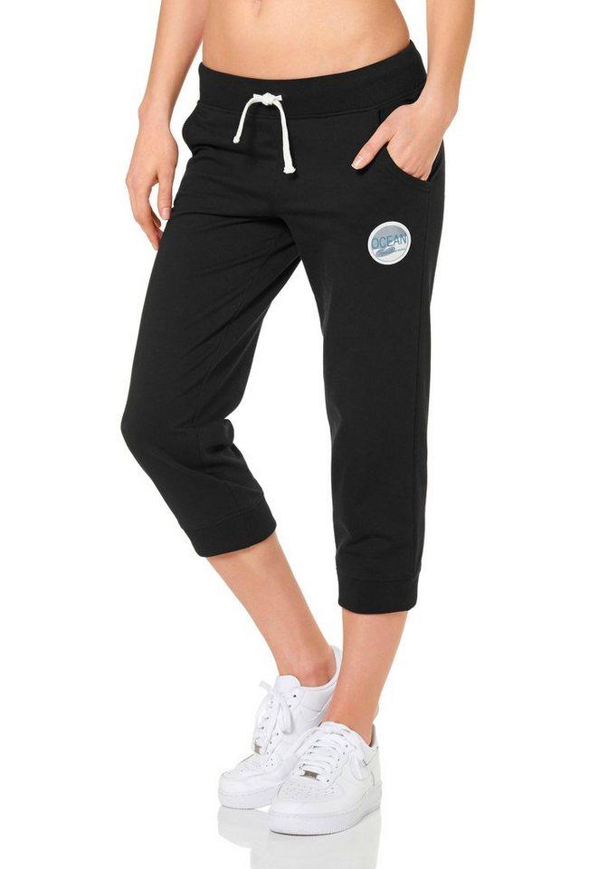 Ocean Sportswear 3/4-Sweathose in Schwarz