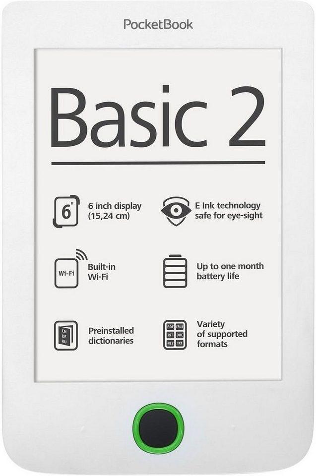 PocketBook eBook-Reader »Basic 2 white« in Weiß