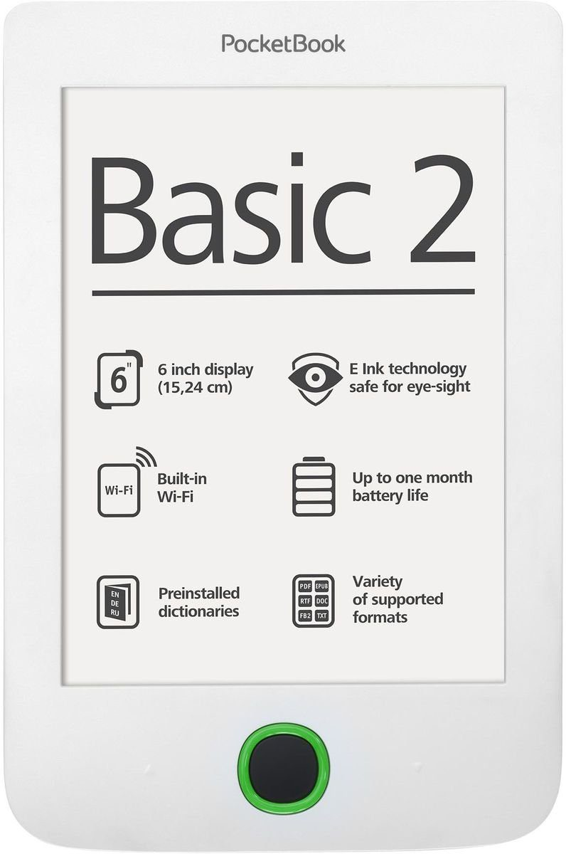 PocketBook eBook-Reader »Basic 2 white«