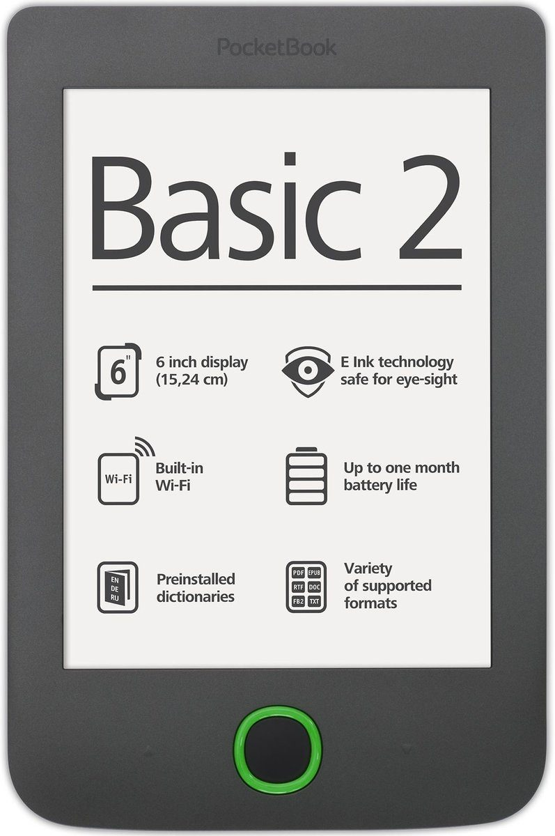 PocketBook eBook-Reader »Basic 2 dark grey«