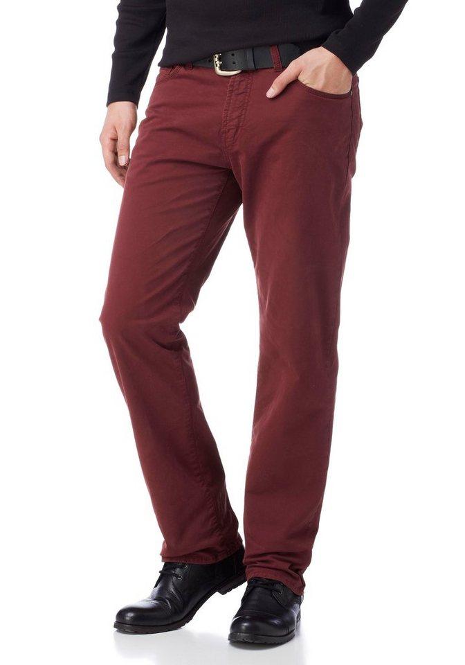 Arizona Stretch-Hose »Ben« im 5-Pocket-Stil in bordeaux