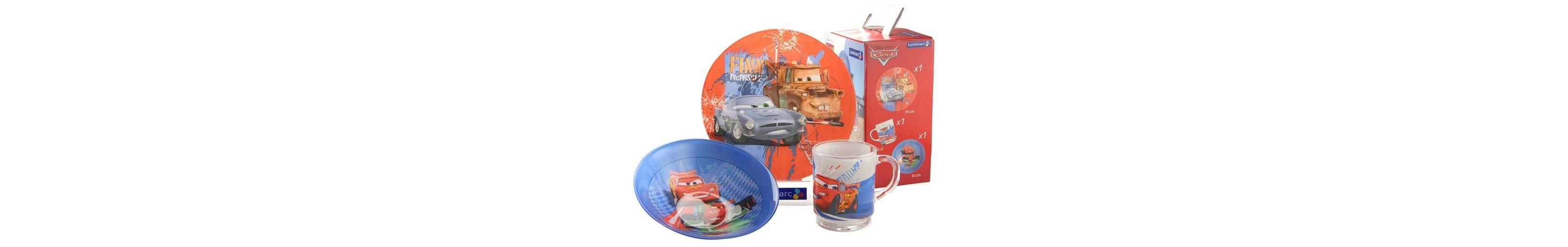 Kinderservice, »Cars«, Luminarc (3tlg.)