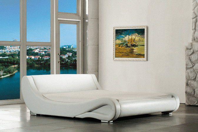 Kasper-Wohndesign Polsterbett inklusive Lattenrost »KAWOLA DAYLIGHT«